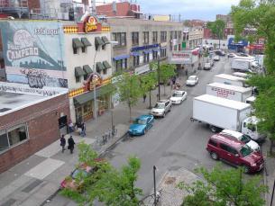 Corona Plaza Before Transformation, 2011