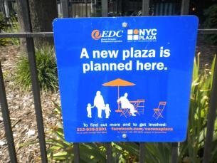 Corona Plaza Signage